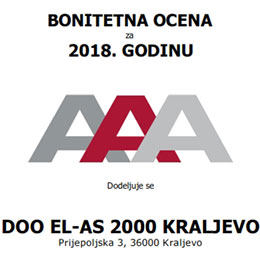DOO EL-AS 2000 KRALJEVO